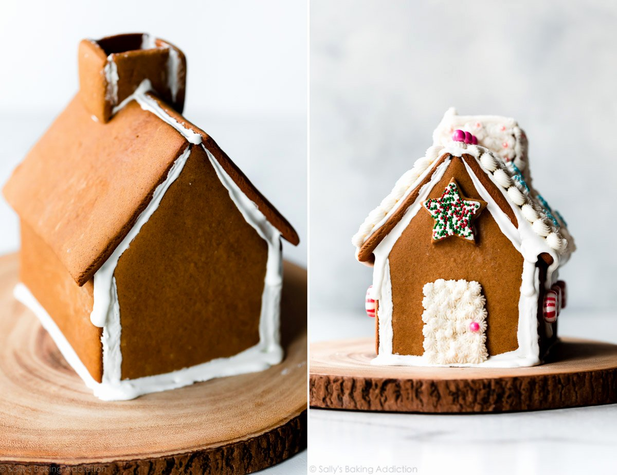 Gingerbread House Cut Out New Gingerbread House Recipe Video