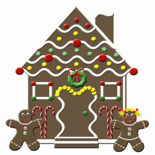 Gingerbread House Cut Out Unique Cute Gingerbread House Christmas Sculpture Cutout