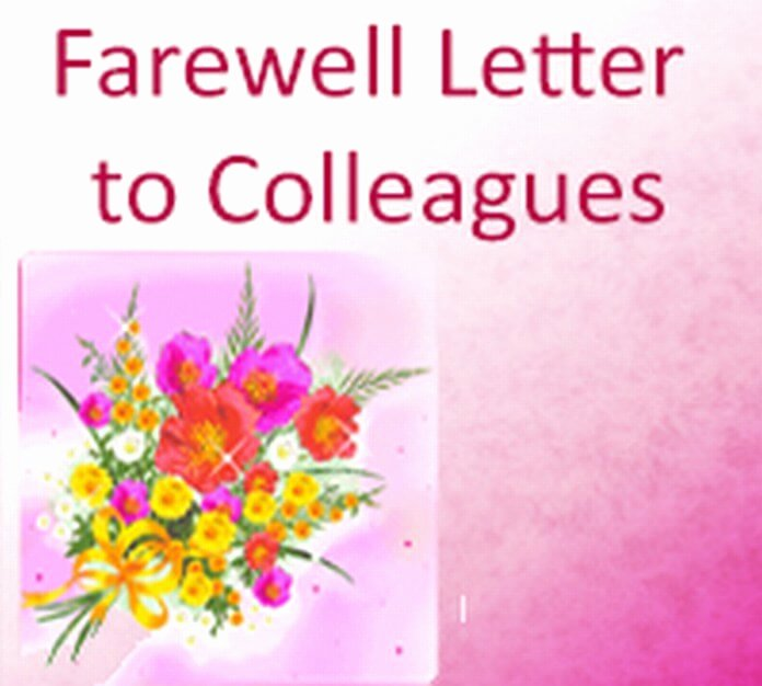 Goodbye Note to Coworkers Best Of Farewell Letter Archives Free Letters