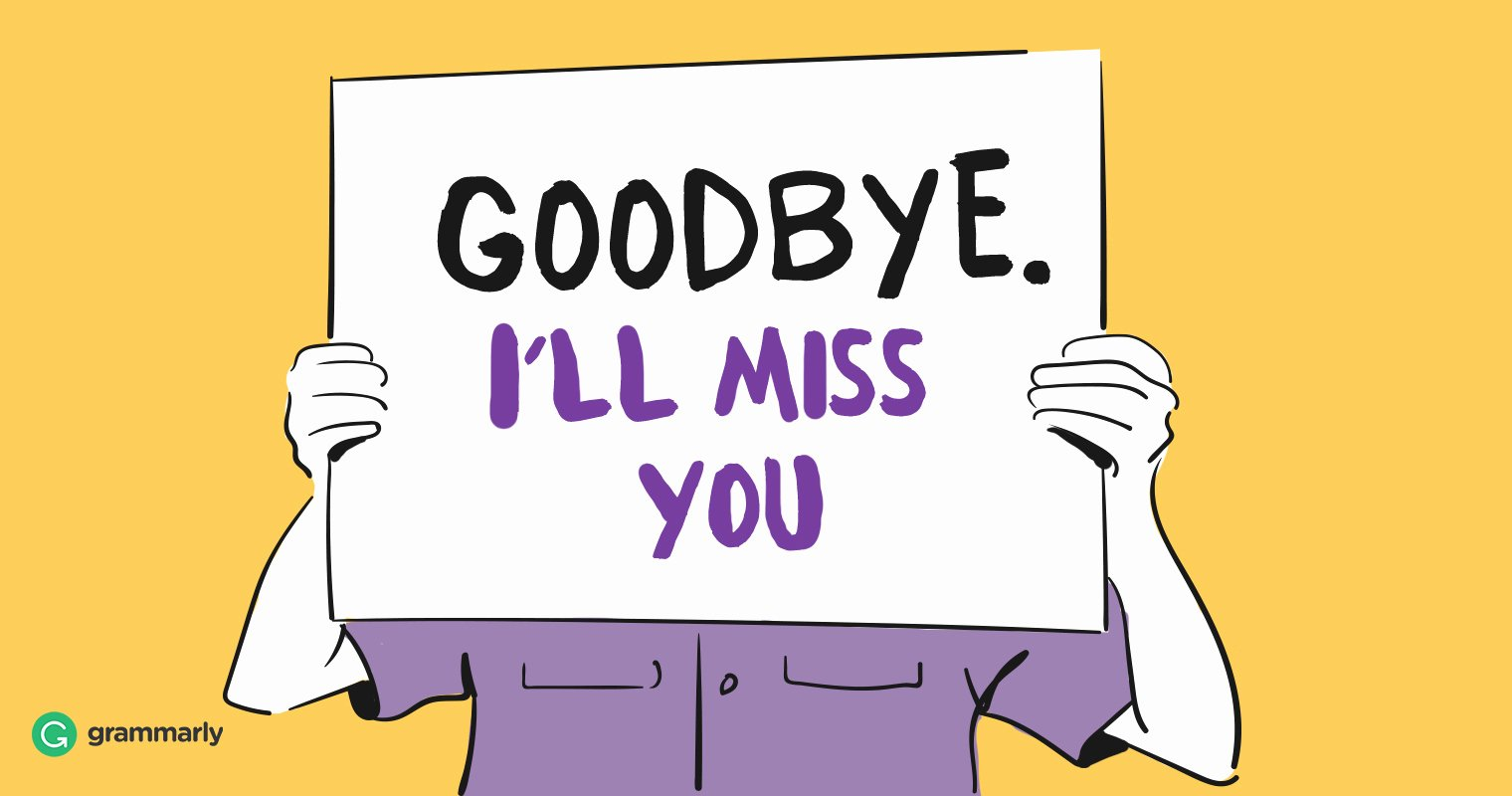 Goodbye Note to Coworkers Best Of How to Send the Perfect Goodbye Email to Coworkers