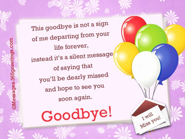 Goodbye Note to Coworkers Lovely Goodbye Messages to Colleagues 365greetings