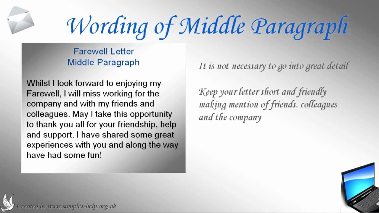 Goodbye Note to Coworkers New How to Write A Farewell Letter to Coworkers