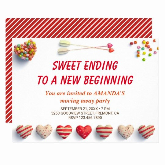 Goodbye Party Invitation Wording Best Of Cute Colorful Can S Farewell Party Invitation