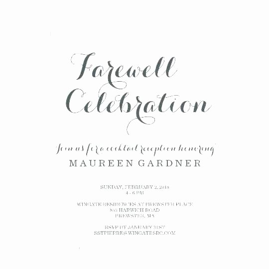 Goodbye Party Invitation Wording Best Of Farewell Invites – orgul Gbt