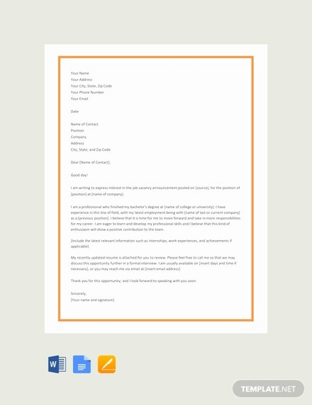 Google Doc Cover Letter Best Of 66 Free Cover Letter Templates In Google Docs [download