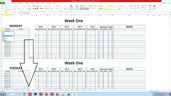 Google Docs Excel Template New P90x Spreadsheet Google Docs Google Spreadshee P90x
