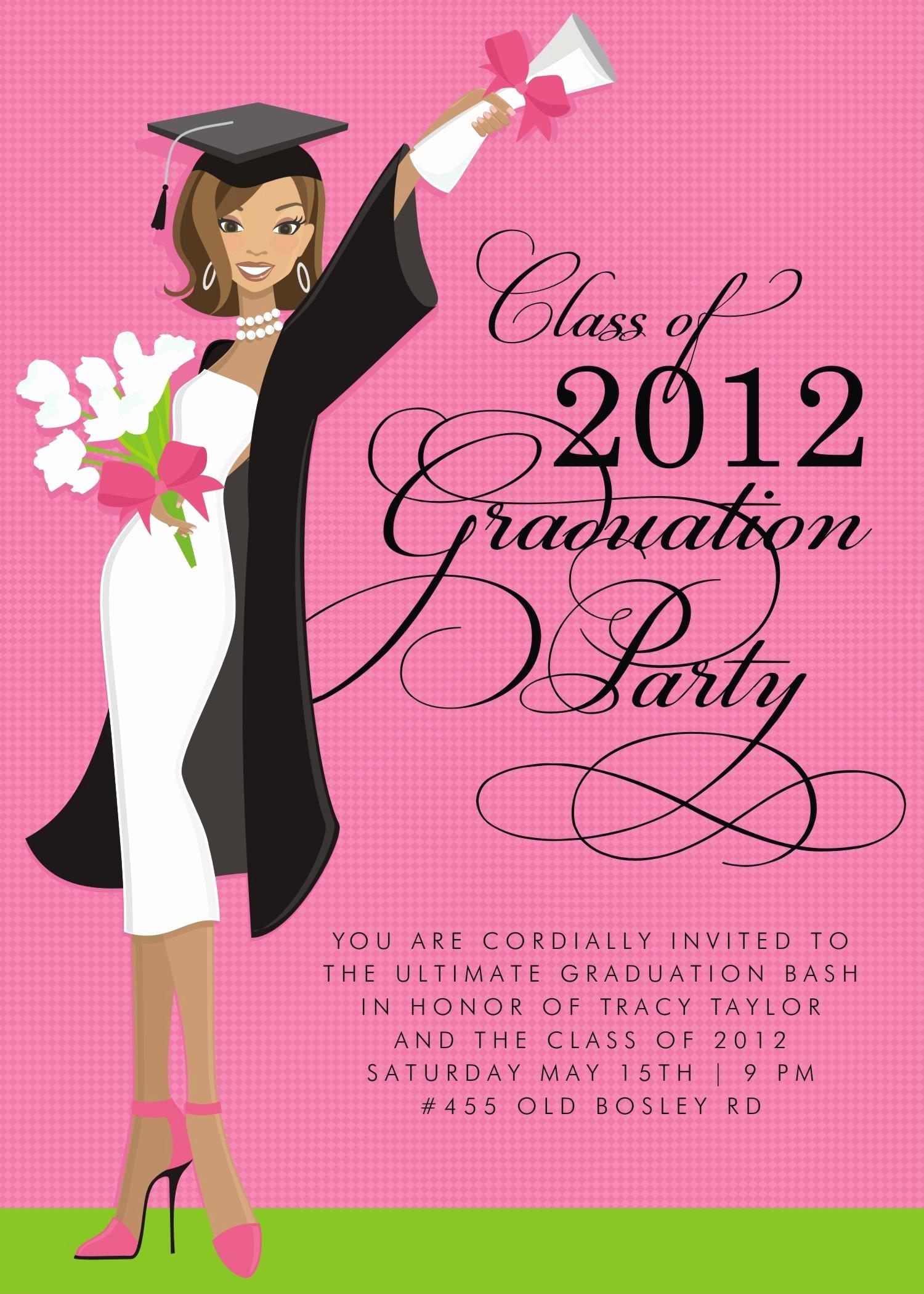 Graduation Ceremony Invitation Card Luxury Graduation Invitations Graduation Invitations Wording