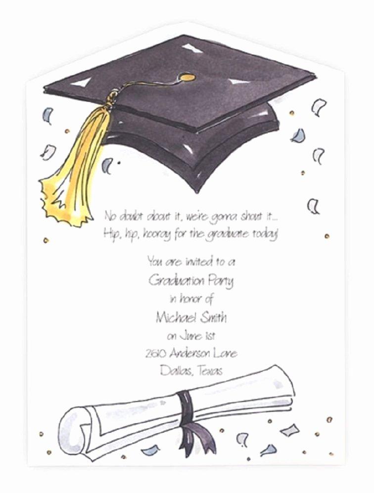 Graduation Ceremony Invitation Card Luxury Great Invitation Templates for Graduation Party Ideas