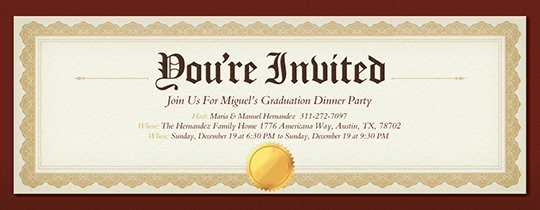 Graduation Ceremony Invitation Card New Free Graduation Party Invitations