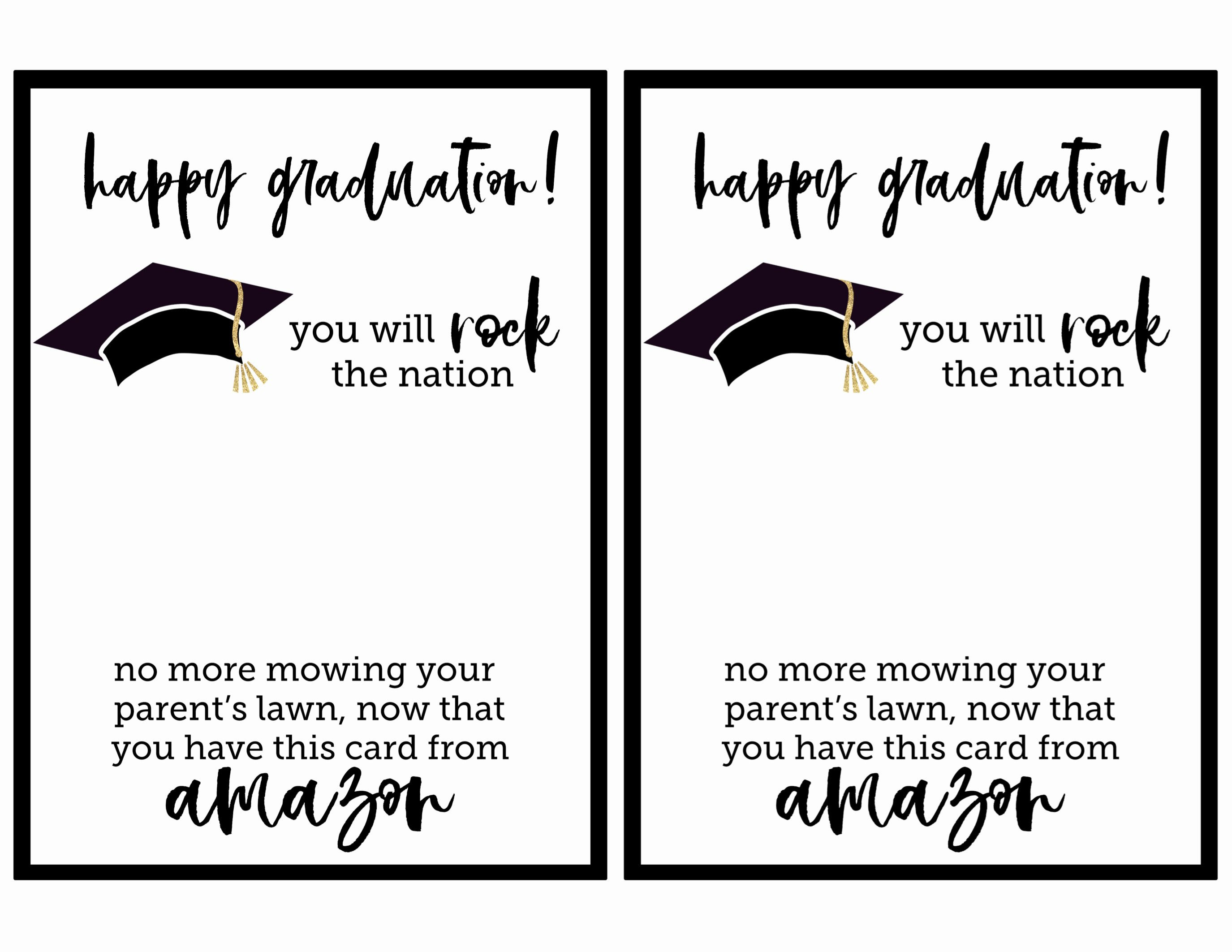Graduation Invitation Cards Free Best Of Free Printable Graduation Card Paper Trail Design