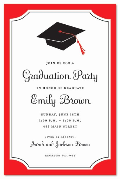 Graduation Invitation Cards Free Best Of Graduation Invitations