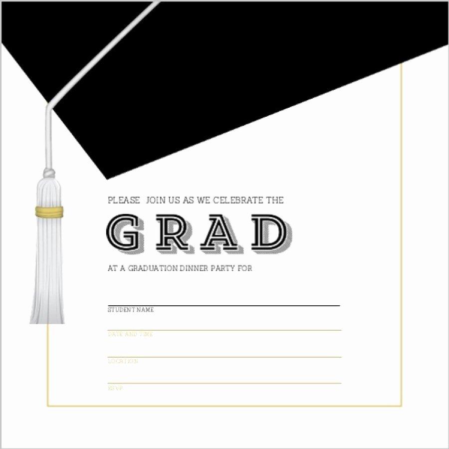 Graduation Invitation Cards Free Inspirational 40 Free Graduation Invitation Templates Template Lab