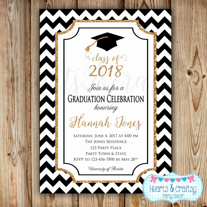 Graduation Invitation Cards Free Unique Graduation Party Invitation College Graduation Invitation
