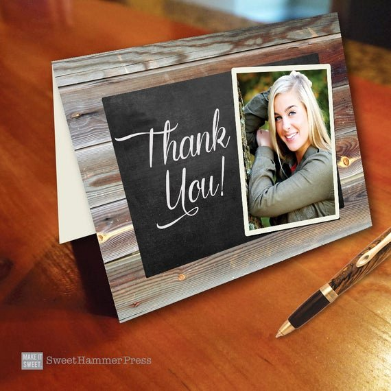 Graduation Present Thank You Note Inspirational Items Similar to Graduation Thank You Notes Thank