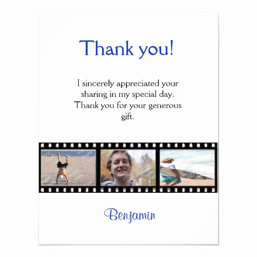 "Graduation Present Thank You Note Unique Graduation Thank You Note Card Strip 4 25"" X 5 5"