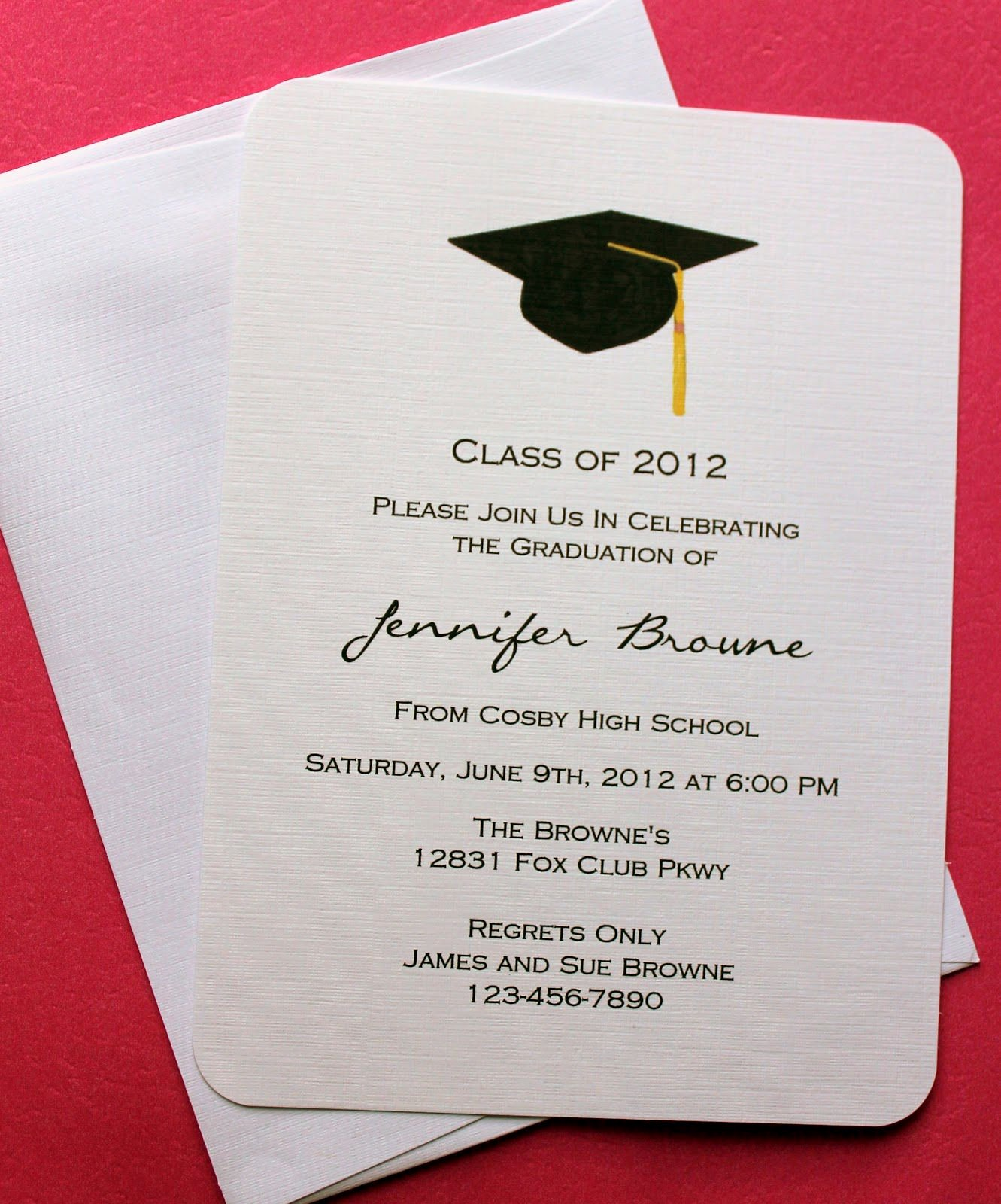 Graduation Program Template Word Awesome Graduation Invitation Template Graduation Invitation