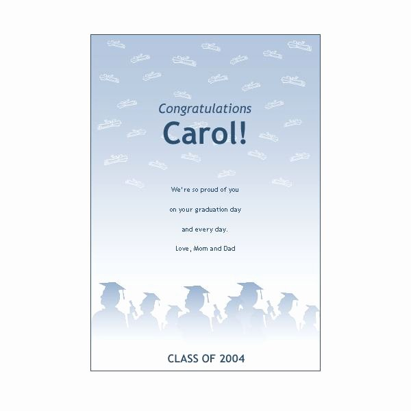 Graduation Program Template Word Beautiful top 5 sources for Free Printable Graduation Stationery