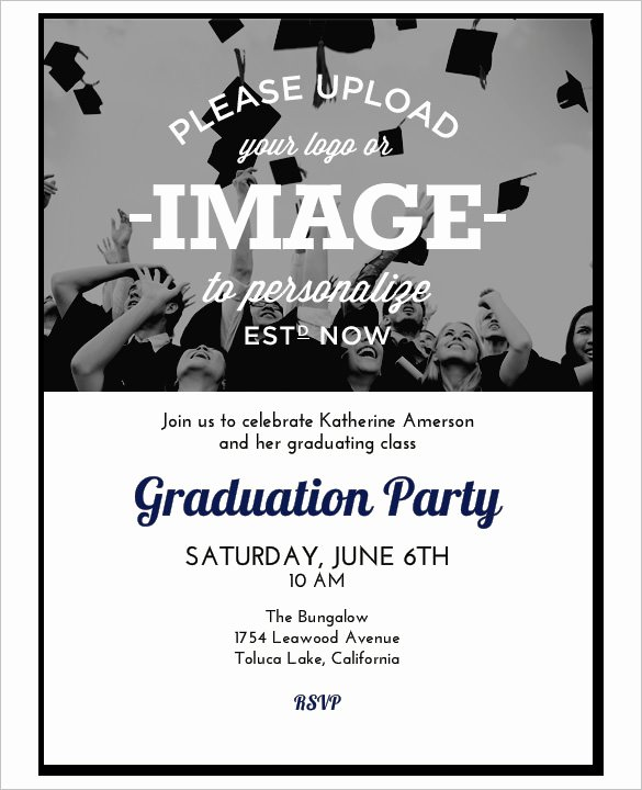 Graduation Program Template Word Fresh 37 Invitation Templates Word Pdf Psd Publisher