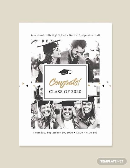 Graduation Program Template Word Lovely 7 Graduation Program Templates Pdf Word