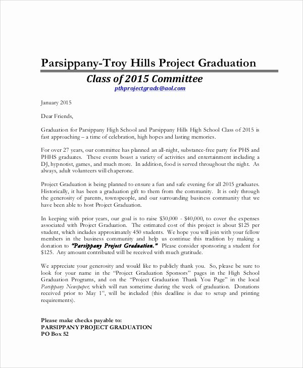 Graduation Thank You Examples Best Of Sample Graduation Thank You Letters 6 Examples In Word Pdf