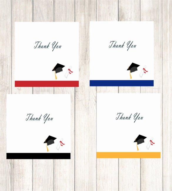 Graduation Thank You Examples Fresh 15 Graduation Thank You Notes – Free Sample Example