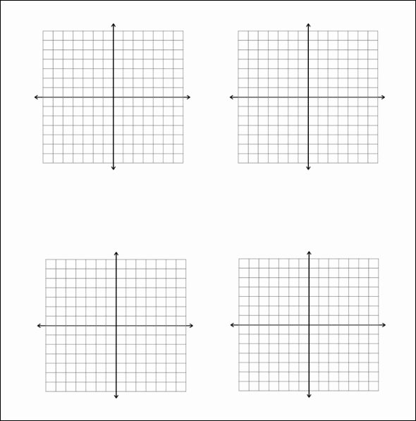 Graph Paper Printable Free Elegant 5 Math Graph Papers