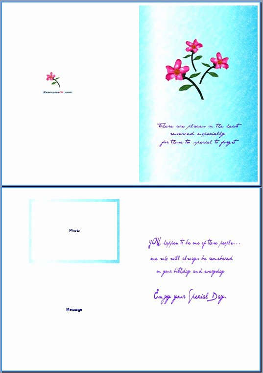 Greeting Card Templates for Word Awesome Birthday Card Template Word 28 Images 6 Best Images Of