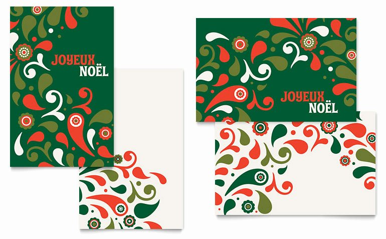 Greeting Card Templates for Word Inspirational Festive Holiday Greeting Card Template Word & Publisher