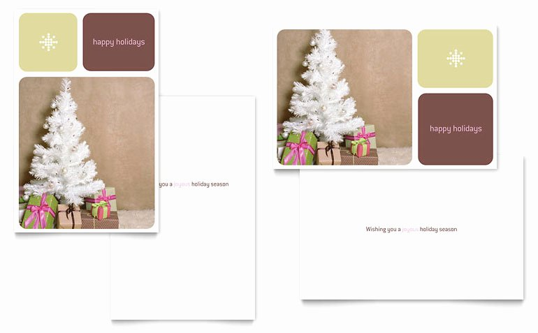 Greeting Card Templates for Word Luxury Contemporary Christmas Greeting Card Template Word