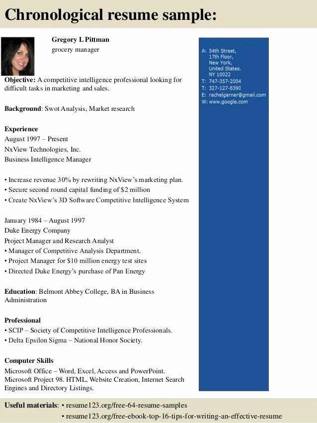 Grocery Store Manager Resume Beautiful top 8 Grocery Manager Resume Samples