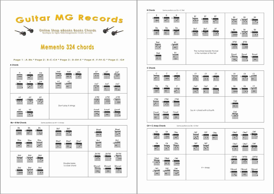 Guitar Chords for Beginners Elegant Guitar Chords for Beginners Pdf Booklet