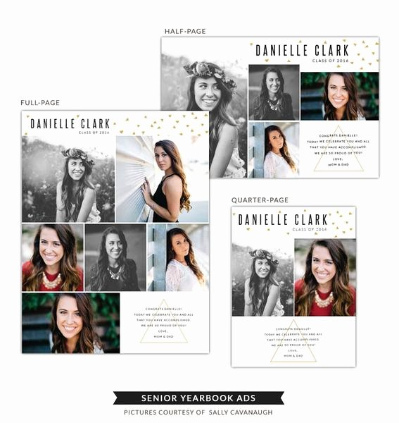 Half Page Advertisement Template Best Of Senior Yearbook Ads
