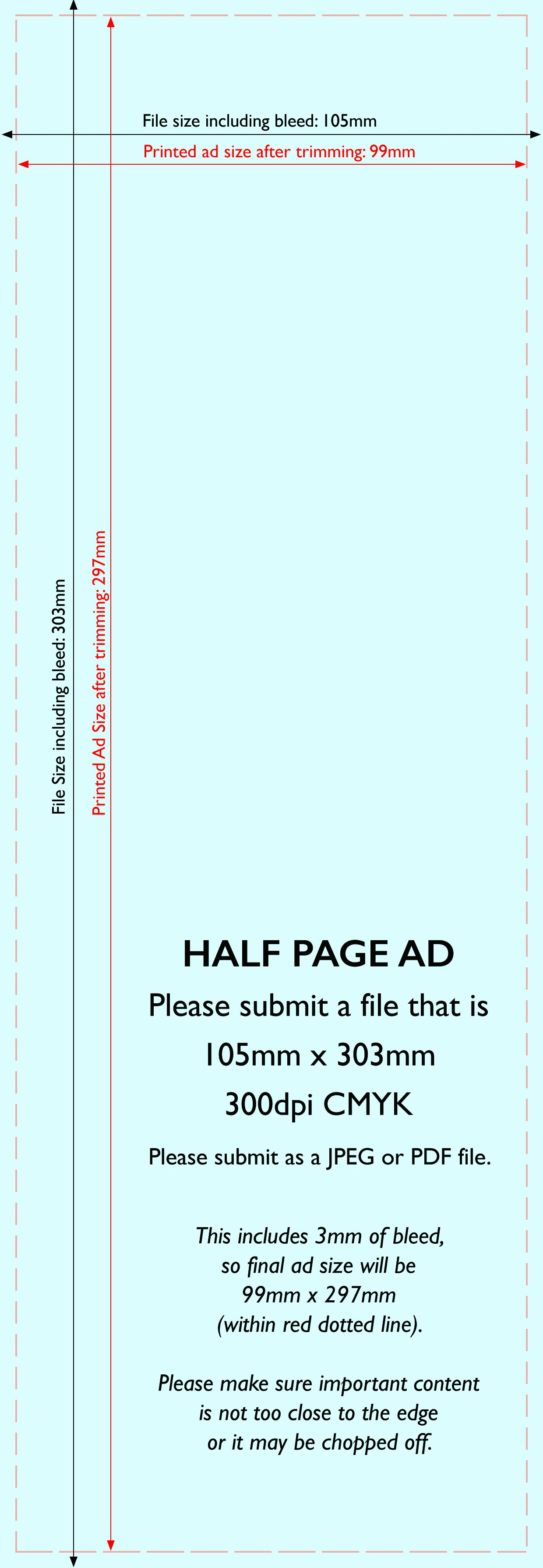 Half Page Advertisement Template Unique Advertise In the Esdc Magazine