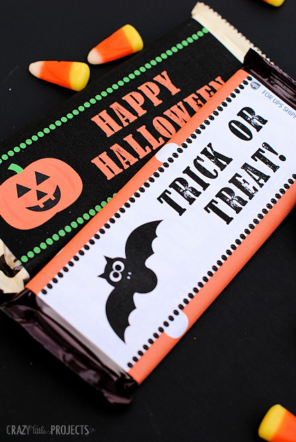 Halloween Candy Bar Wrappers Printables Awesome Free Printable Halloween Candy Bar Wrappers Crazy Little