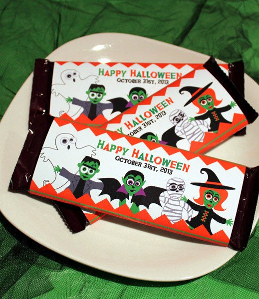 Halloween Candy Bar Wrappers Printables Beautiful Monster Mash – Printable Halloween Candybar Wrappers
