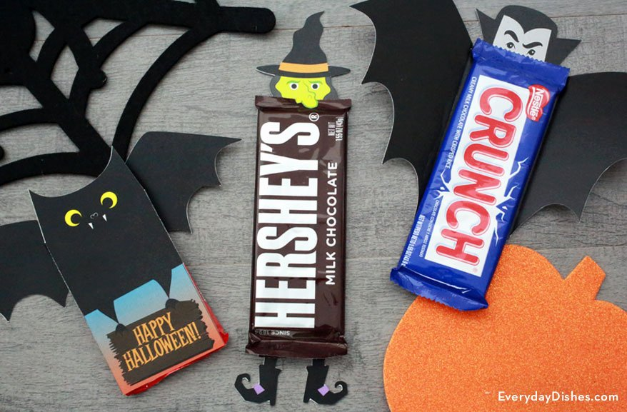 Halloween Candy Bar Wrappers Printables Best Of Fun Halloween Candy Bar Wrappers Printable