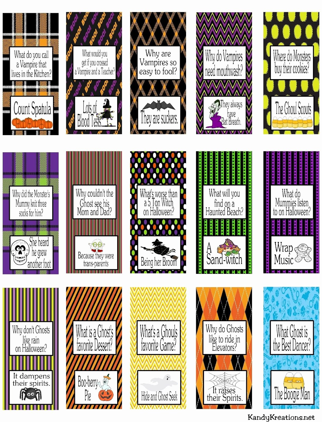Halloween Candy Bar Wrappers Printables Elegant Halloween Joke Miniature Chocolate Wrapper Printables