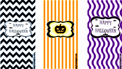 Halloween Candy Bar Wrappers Printables Elegant Mighty Delighty Mini Halloween Candy Bar Wrappers Free