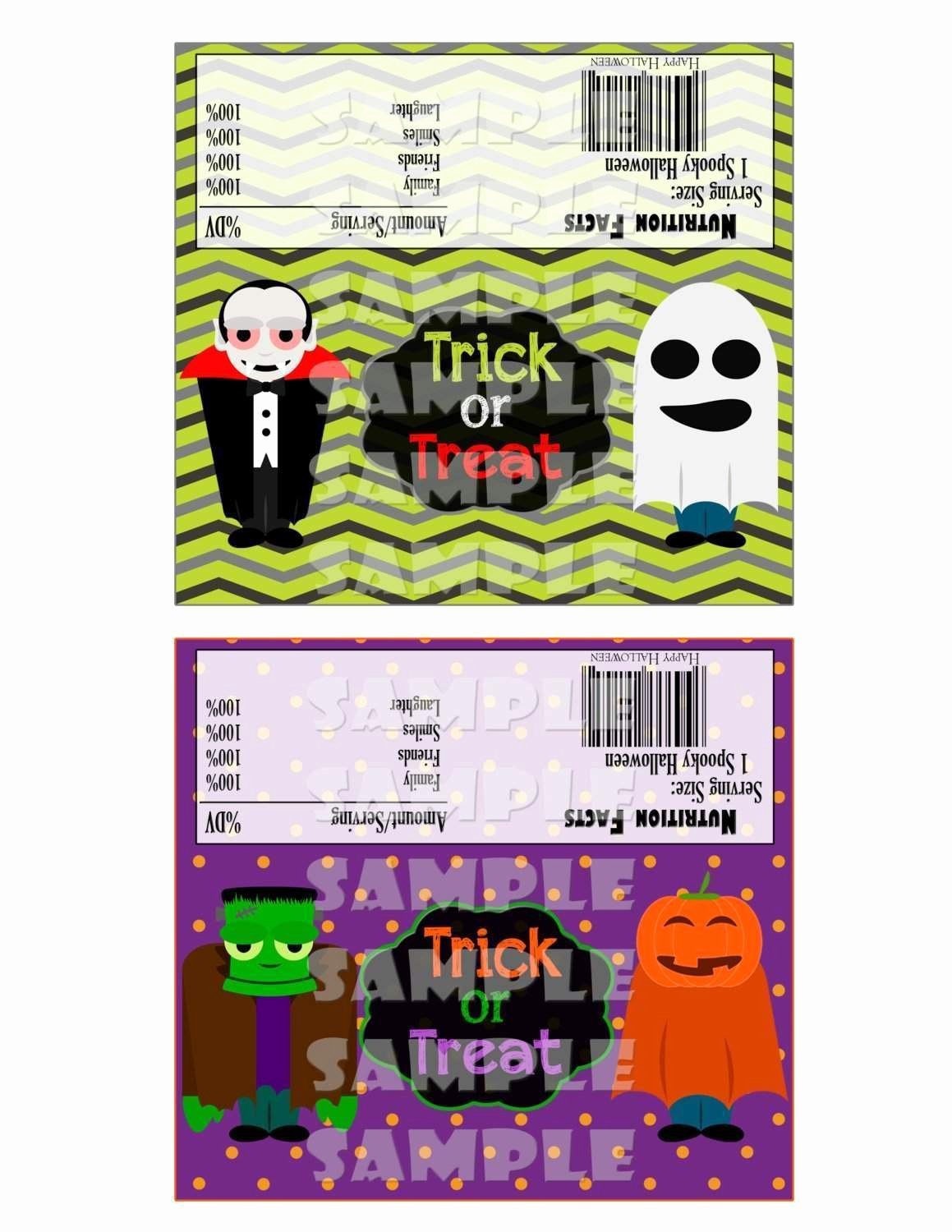 Halloween Candy Bar Wrappers Printables Fresh Halloween Candy Bar Wrappers forever Fab Boutique