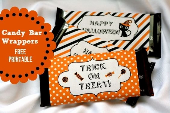 Halloween Candy Bar Wrappers Printables Inspirational Halloween Candy Bar Wrapper Free Printable