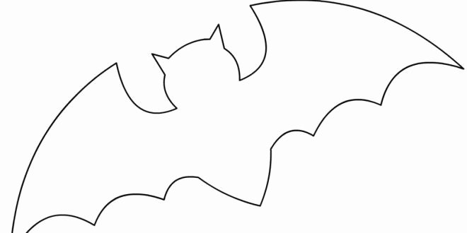 Halloween Templates to Cut Out Fresh Bat Template Google Search