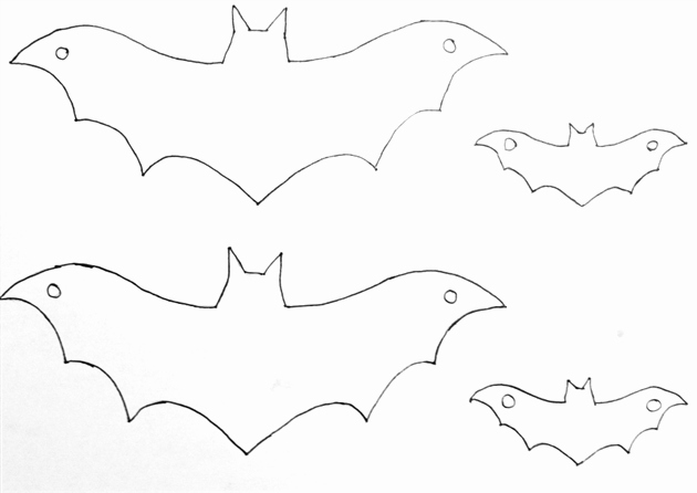 Halloween Templates to Cut Out Lovely Easy Diy Halloween Home Decor Ideas with Ghosts Bats and