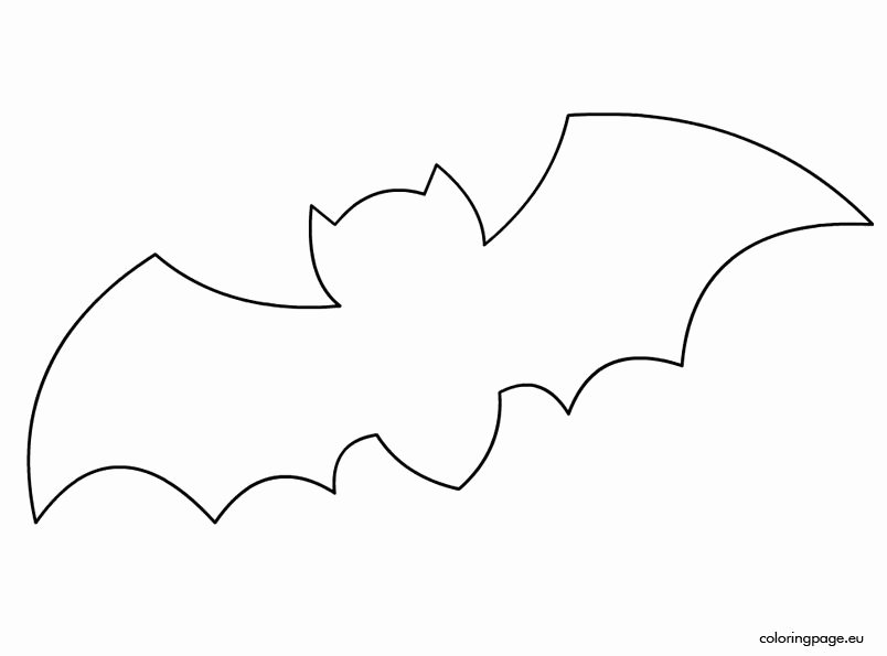 Halloween Templates to Cut Out Luxury Bat Template Halloween Pinterest