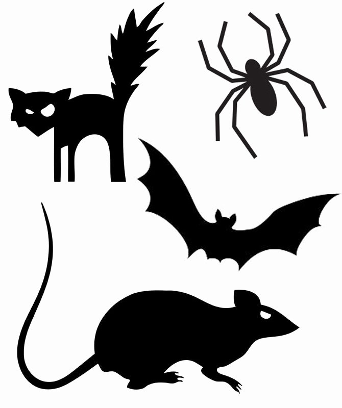 Halloween Templates to Cut Out New Halloween Templates