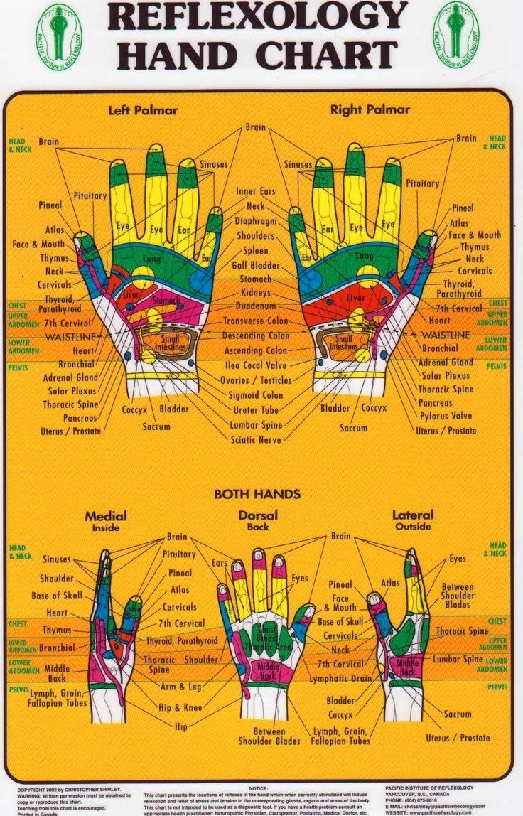 Hand and Foot Reflexology Chart Inspirational 42 Best Images About Reflexology On Pinterest