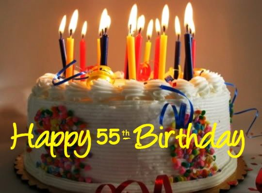 Happy 55th Birthday Images Lovely Happy 55th Birthday Quotes Quotesgram