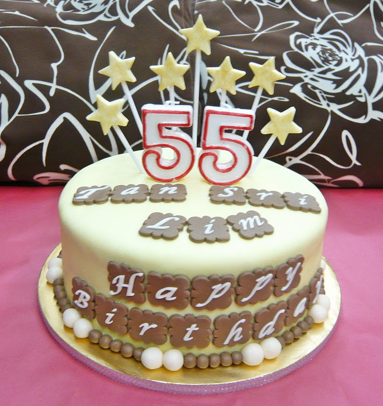 Happy 55th Birthday Images Lovely Jenn Cupcakes & Muffins Happy Birthday Cake