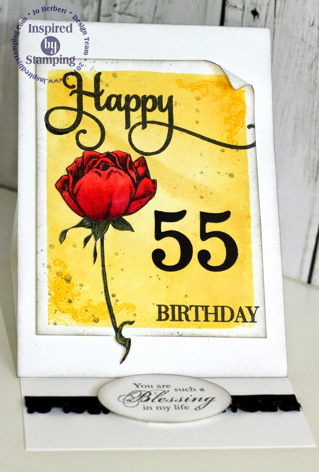 Happy 55th Birthday Images New Show Me the Love Happy 55th Birthday Inspired by Stamping