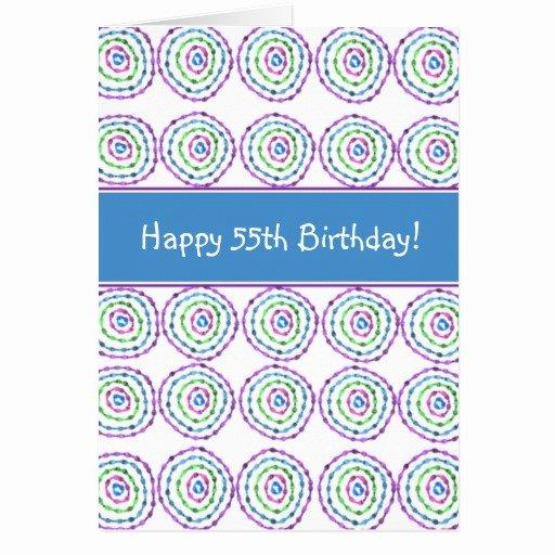 Happy 55th Birthday Images Unique Happy 55th Birthday Card