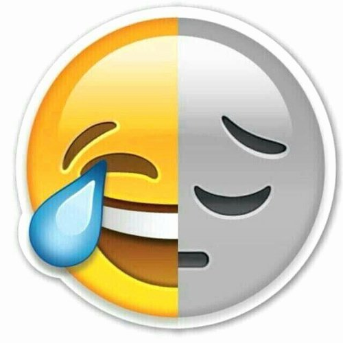 Happy and Sad Emoji Inspirational Happy Vs Sad Discovered by nowhat On We Heart It